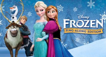 10 planse de colorat cu personajele din Frozen