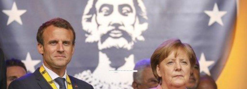 Macron isi doreste o Europa puternica impotriva lui Trump