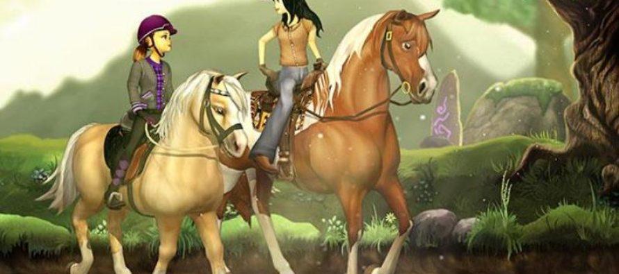 Jocurile cu cai, distractie si educatie pentru copii, relaxare pentru adulti