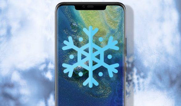 Cum ne protejam smartphone-ul de frig