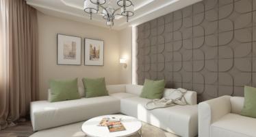 Cum poti decora un perete mai mare din living?