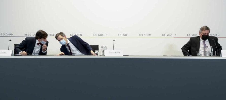 """Covid 19: Belgia alege un """"sacrificiu"""" pe termen scurt si intra in carantina pentru patru saptamani"""