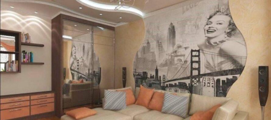 Cum poti decora peretele din spatele canapelei?
