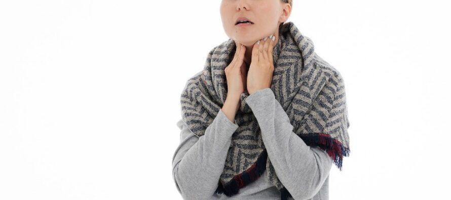 Care sunt simptomele infectiei localizate la nivelul amigdalei?